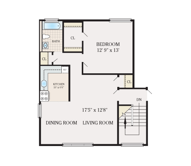 Floor plans new paltz gardens apartments for rent in new - One bedroom apartments denver under 700 ...